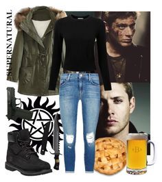 """Dean Winchester l Dynasty"" by whispers-in-the-dark01 ❤ liked on Polyvore featuring art and supernatural"