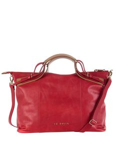 Ted Baker Leather Alum Bag Littlewoods.com