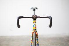Photo by Chris Riekert, Rocket Espresso Red Hook Crit Allez track bike