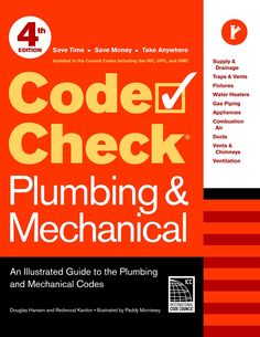 The 43 best codes standards books images on pinterest books code check plumbing mechanical 4th edition an illustrated guide to the plumbing and mechanical fandeluxe