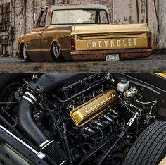 1969 Chevy C10 SWB Bagged Trucks, Chevy Trucks, Gumball 3000, Photo Credit, Muscle Cars, Hot Rods, Chevrolet Trucks
