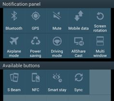 Find out how to customize the Galaxy Note 2 notification panel settings