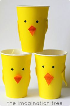 chicken paper cups