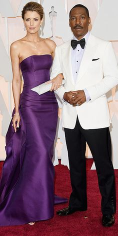 Paige Butcher and Eddie Murphy #Oscars 2015