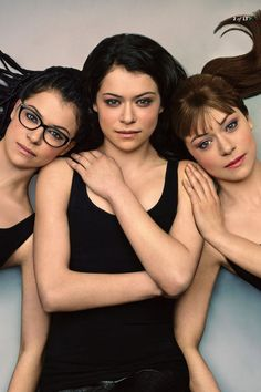 Tatiana Maslany Portraying Cosima Niehaus, Allison Hendrix, and Sarah Manning in Orphan Black Orphan Black, Netflix, Grey's Anatomy, Best Tv Shows, Favorite Tv Shows, Sarah Manning, Beautiful People, Beautiful Women, Tatiana Maslany