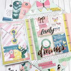 """284 mentions J'aime, 9 commentaires - Emmanuelle (@prettylittlethings_fr) sur Instagram: """"Outgoing flipbook... I decided to include a pocket letter... - #sendmoremail #mail #sobeautiful…"""""""