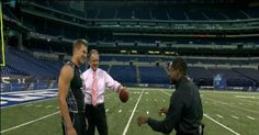 Brian Billick, with help from Rob Gronkowski, shows what teams will be looking for in the tight end group.