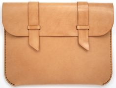 leather ipad 2 case / natural