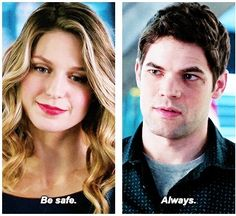 "I imagine in my head that Winn hears ""After all this time, you still love me?"" Always. # Winnara"