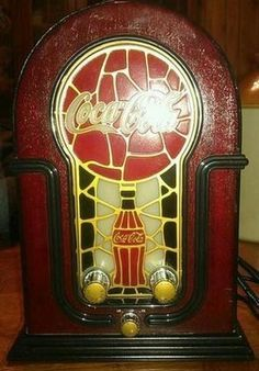 Rare Coke Collectibles   Coca Cola Antique Style Radio Completed