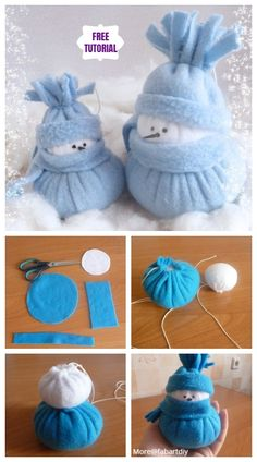 DIY Felt Snowman Tutorial-Sew Snowman Informations About DIY Cute Sock Snowman Tutorial for Christma Sock Snowman Craft, Felt Snowman, Sock Crafts, Snowman Crafts, Snowman Hat, Snowman Wreath, Wooden Snowmen, Primitive Snowmen, Primitive Crafts