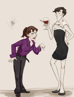 Sherlock & Molly This is perfect!