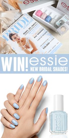 #WIN New Shades of #Essie Nail Polish! #competition