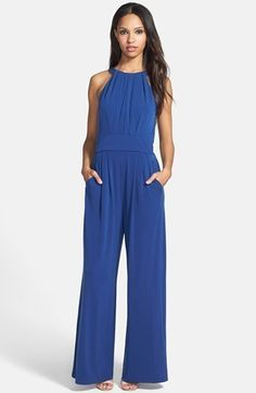 My Personal Stylist Picks I simply love this Vince Camuto Wide Leg Jersey Jumpsuit | @Nordstrom.com