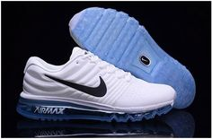timeless design ec4c4 f9f55 Nike Air Max 2017 Mens running shoes White blue, cheap Air Max If you want  to look Nike Air Max 2017 Mens running shoes White blue, you can view the Air  Max ...