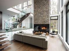 St-Donat House by BONE Structure