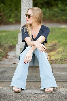 flares for days @jbrandjeans #INMYJBRAND