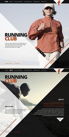 Running Club Website