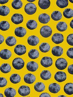Blueberry Pattern by Georgiana Paraschiv