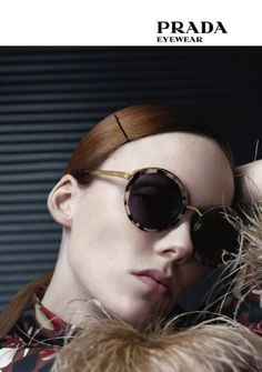 It's beginning to look a lot like Christmas, which means you should be getting some great deals! Shop this awesome holiday deal on for the best Prada women's sunglasses in town! Sunglasses 2017, Prada Sunglasses, Retro Sunglasses, Sunglasses Online, Round Sunglasses, Sunglasses Women, Sunnies, People With Glasses, Style Scrapbook