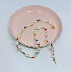 Cute Jewelry, Pearl Jewelry, Diy Jewelry, Jewelry Gifts, Beaded Jewelry, Jewelery, Jewelry Necklaces, Jewelry Design, Jewelry Making