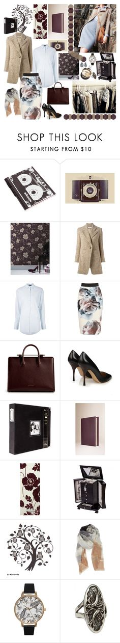 2016 *style* by mariettamyan on Polyvore featuring мода, ATM by Anthony Thomas Melillo, Chloé, MaxMara, Olivia Burton, Silver Forest, Femme Metale, Nordstrom, Burberry and Allurez