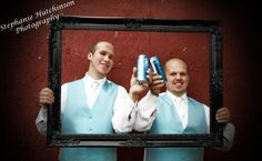 Great shot for the groom and best man!!
