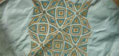Decorated silk pattern