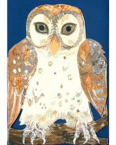 Another owl by Mark Hearld
