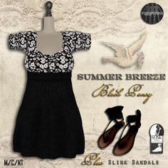 A Touch Of Summer Vintage. The Summer Breeze outfit is the new June group gift from The Vintage Touch. Look above reception to find it. You will