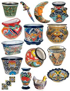 Talavera Pottery and Ceramics from Mexico in San Diego