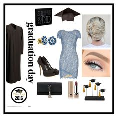 """""""graduation lace dress """" by nankyubi ❤ liked on Polyvore featuring Lover, Dolce&Gabbana, Yves Saint Laurent, BillyTheTree, Marc Jacobs and graduationdaydress"""