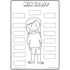 Body Preschool, Learn Swedish, Cute Mixed Babies, Class Rules, Eye Painting, Science And Nature, Pre School, Kindergarten, Homeschool