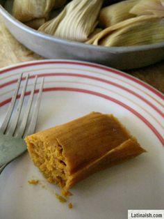 Sweet Tamales de Calabaza y Horchata