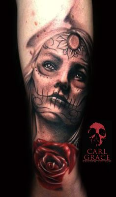 day of the dead tattoo..