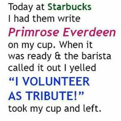 I hope someone does this someday while I'm getting coffee.
