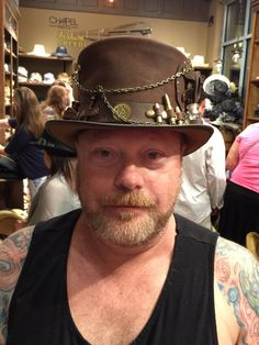Hat by Steampunk Hatters