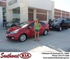 Congratulations to Amanda Ruiz on the 2013 #KIA #Rio