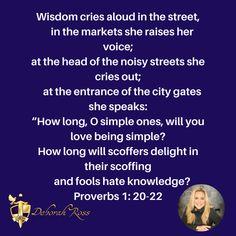 Meme of Proverbs on Wisdom