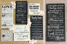 Decorative spiritual wooden signs available in 6 styles. These signs are going to be the perfect addition to your living space! Add one to any family room, bedroom, or bathroom to show your devotion and love for what you believe in.