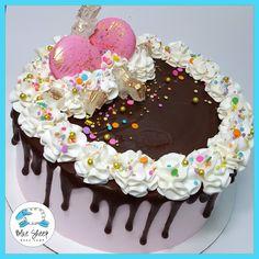 Pink Confetti Ice Cream Cake