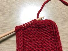 스퀘어 아이코드 엣징 쁘띠목도리 4면이 모두 아이코드 엣징으로 마무리 된딱 떨어지는 깔끔한 라인의 쁘띠... Double Knitting, Loom Knitting, Knitting Needles, Knitting Patterns, Crochet Shawl, Diy Crochet, Knitting Supplies, Knit Basket, Knitted Hats