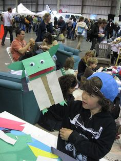 Star Wars Bag Puppets - Maker Faire by The Official Star Wars