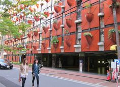 Vertical Garden Building in Osaka