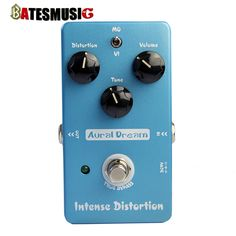 Aural Dream Guitar Effect Warm Drive breath delay fuzz intense distortion Electric Smart Single Effect with True Bypass