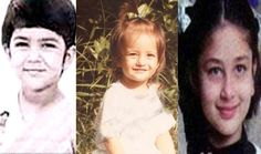 Unseen pics of Kat, Priyanka & Kareena's childhood