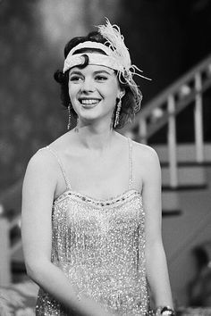 Natalie Wood makes a special appearance on the Bob Hope Chevy Show, 1957.