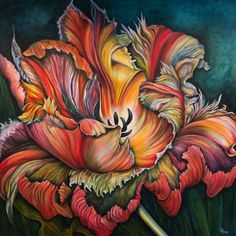 Artisan Tulip by Debra Bucci Fine Art Artisan Tulip is now the poster for the American Craft Walk 2016 for Wilmington, NC.