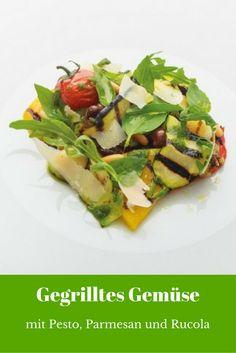 Gegrilltes Gemüse, Pesto, Parmesan und Rucola (Foto: Promo)