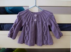 Ravelry: Project Gallery for Design B - Rib-yoke Cabled Cardigan pattern by Sirdar Spinning Ltd.